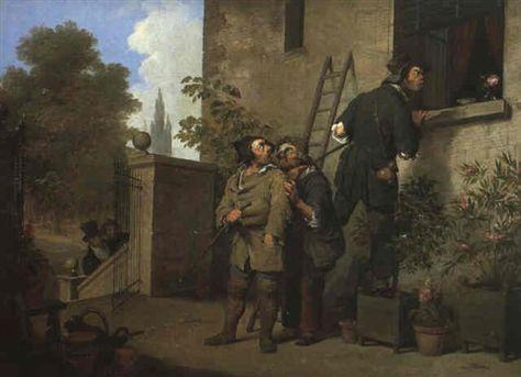 boilly 1804 avant la scene-de-voleurs coll privee