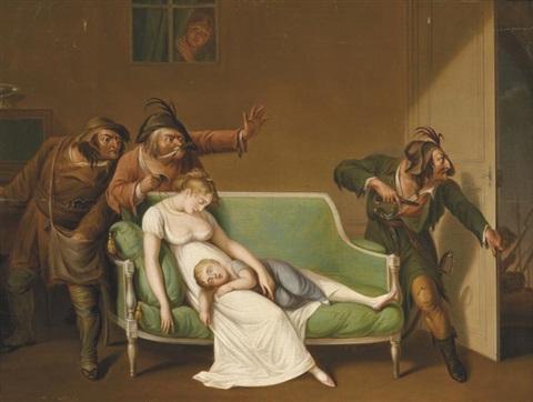 boilly 1804 premiere scene-de-voleurs coll privee