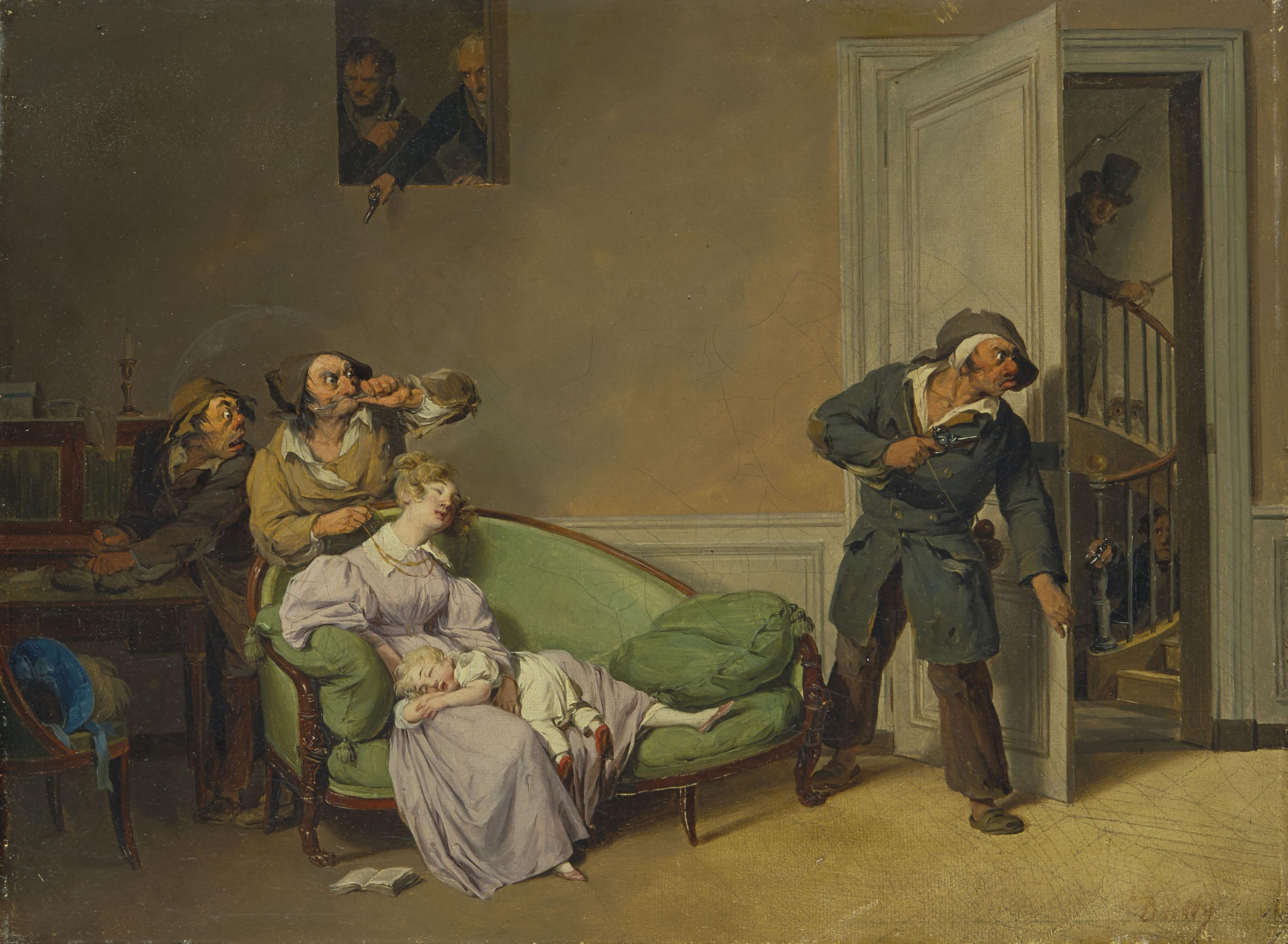 boilly 1825-30 premiere scene_de_voleurs