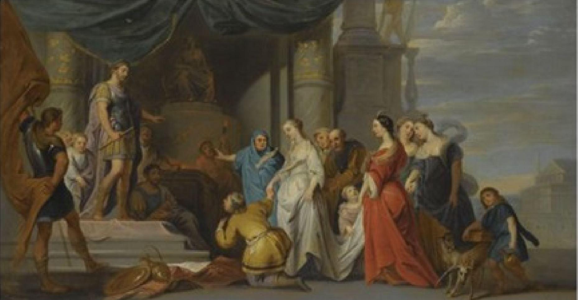 erasmus-quellinus-le jeune 1640-60 La clemence de Scipion coll priv