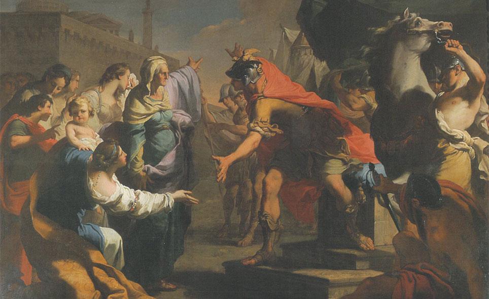 gandolfi Gaetano 1784 Coriolan et sa mere Azienda Usl di Bologna