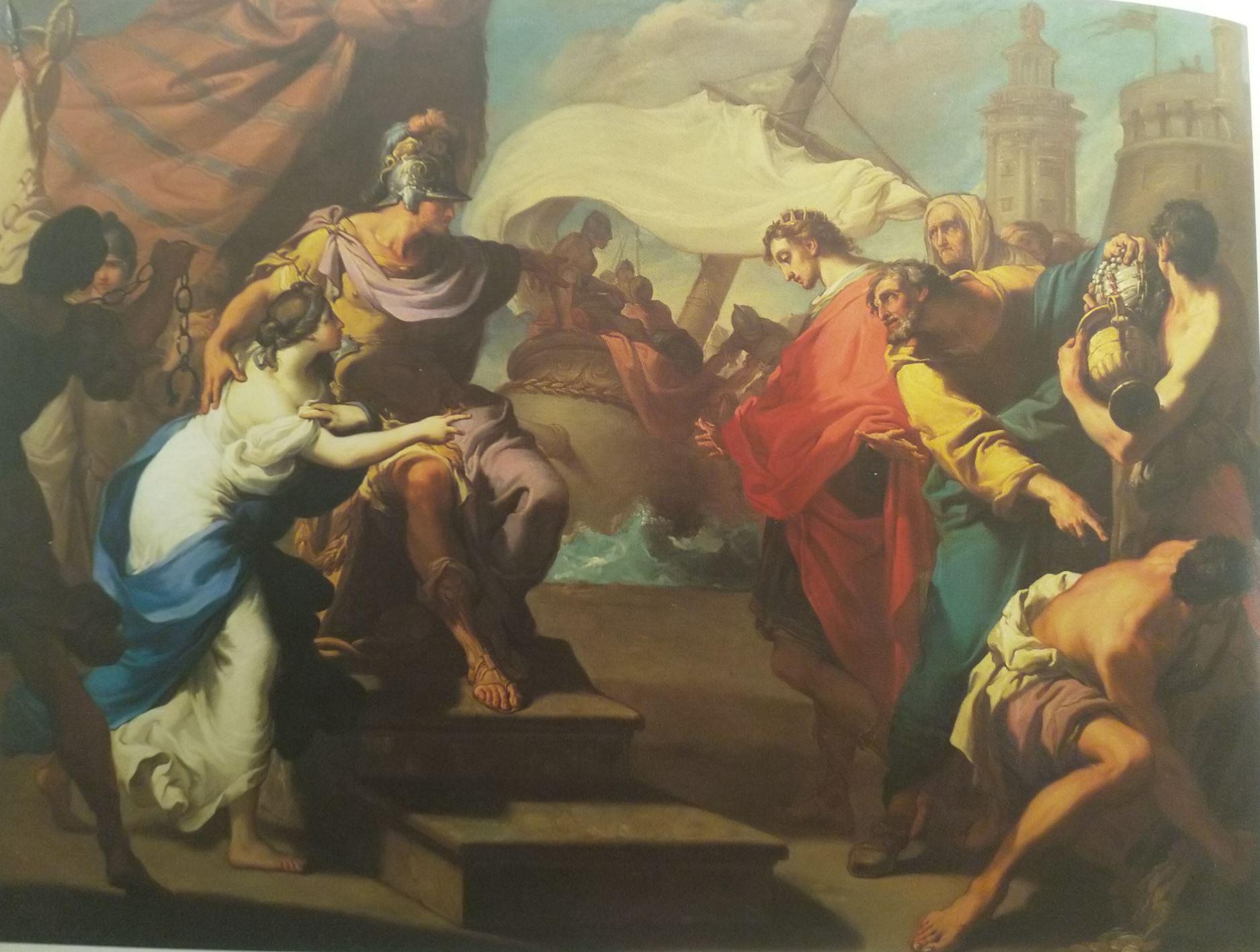 gandolfi Gaetano 1784 La continence de Scipion coll priv