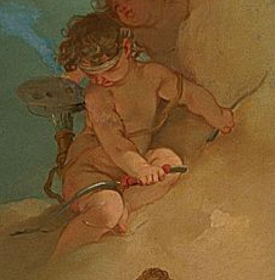 gandolfi Gaetano 1788-90 Diane et Callisto detail