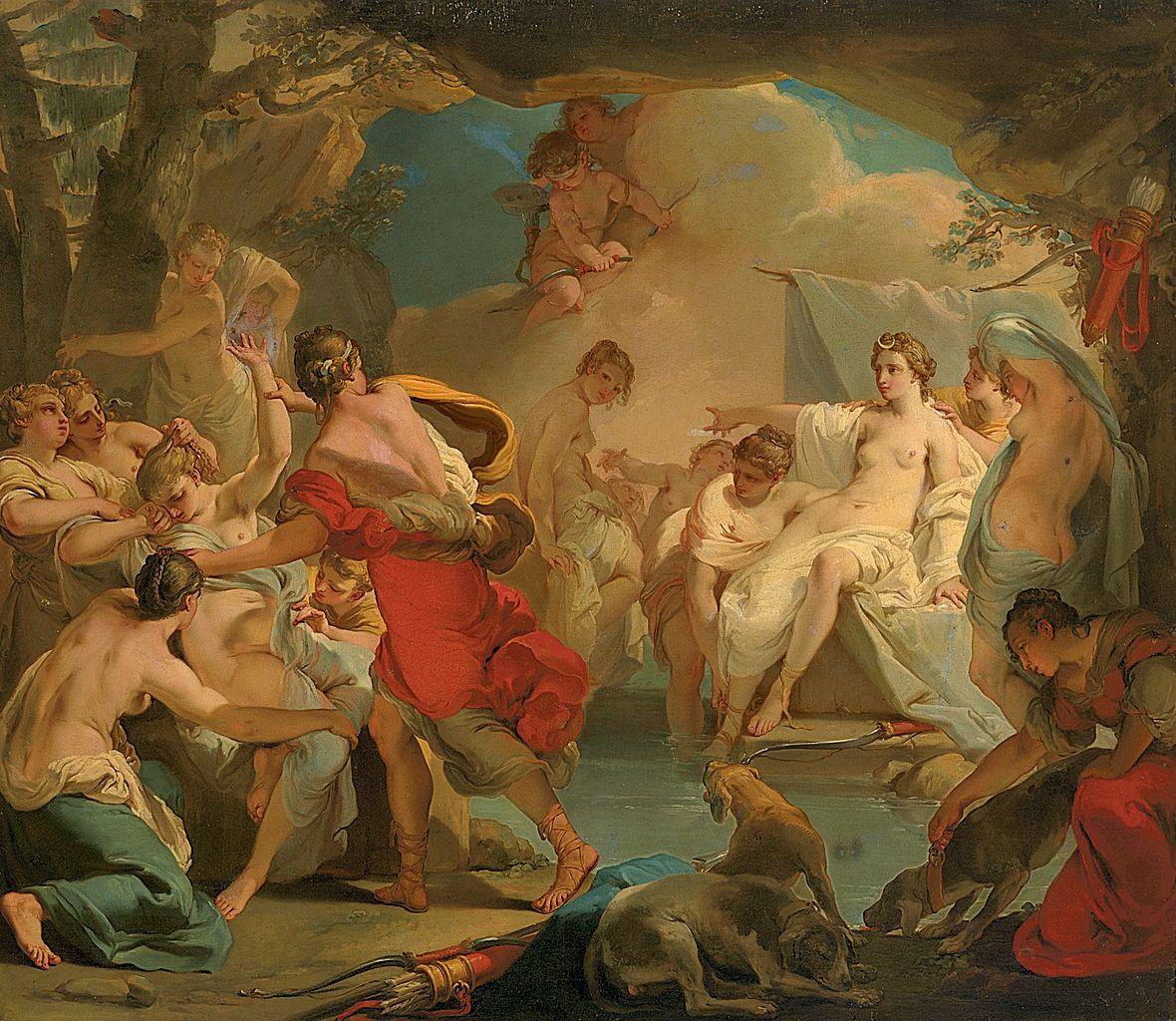 gandolfi Gaetano 1788-90 Diane et Callisto