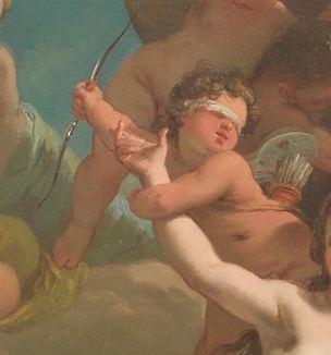 gandolfi Gaetano 1788-90 Le triomphe de venus detail