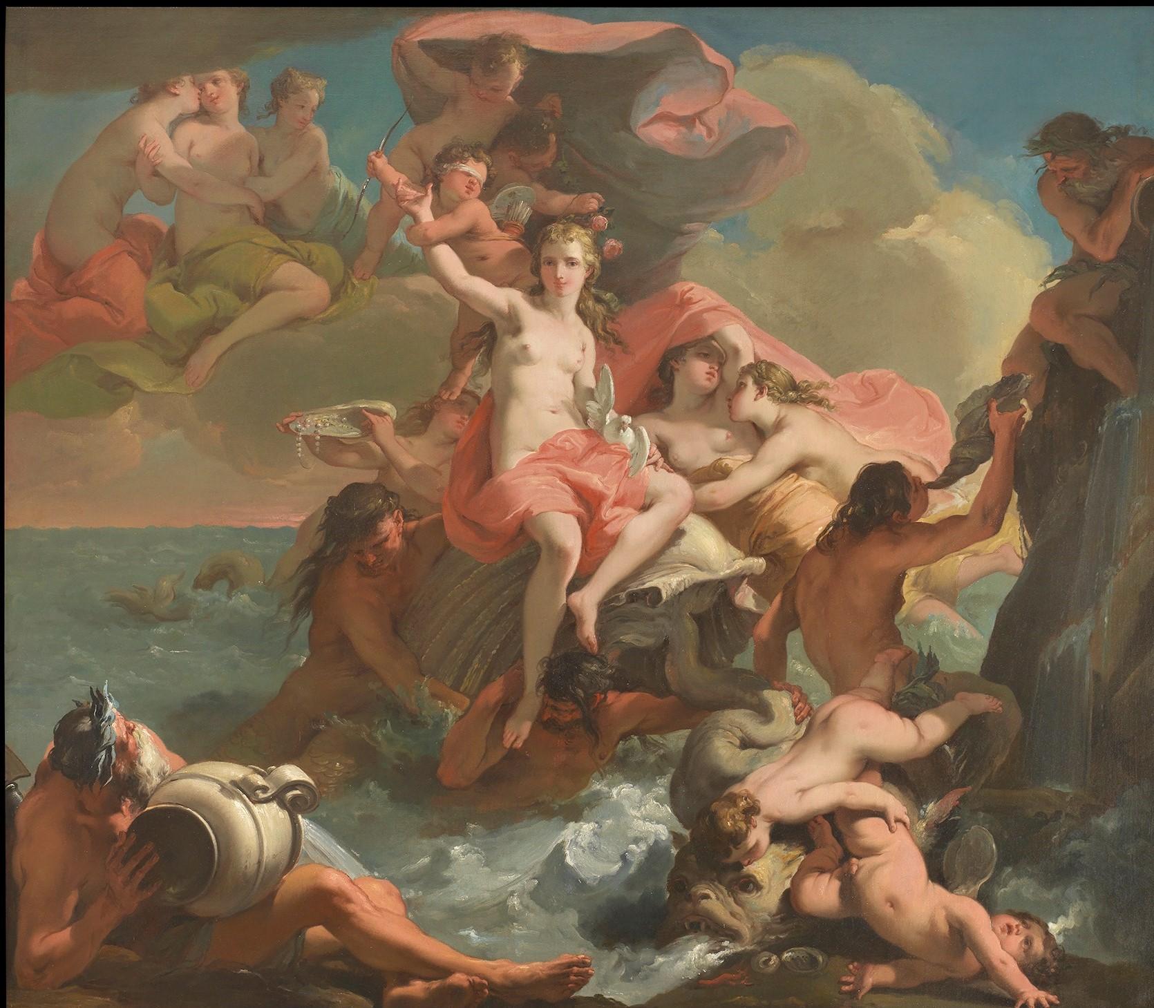 gandolfi Gaetano 1788-90 Le triomphe de venus