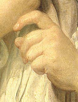 greuze A un jeune berger 1751 Petit Palais Paris detail