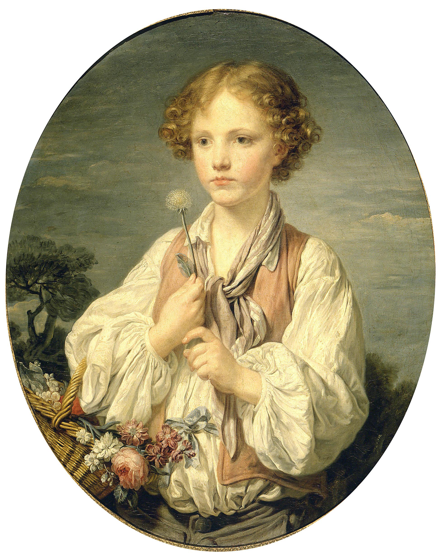 greuze A un jeune berger 1751 Petit Palais Paris