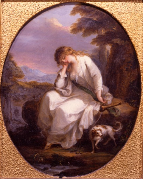 Angelica Kauffman 1772 Maria from Sterne Burghley House