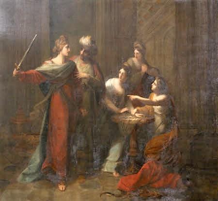 Ulysses discovering Achilles, Angelica Kauffman RA (Chur 1741 - Rome 1807) at Saltram, Devon