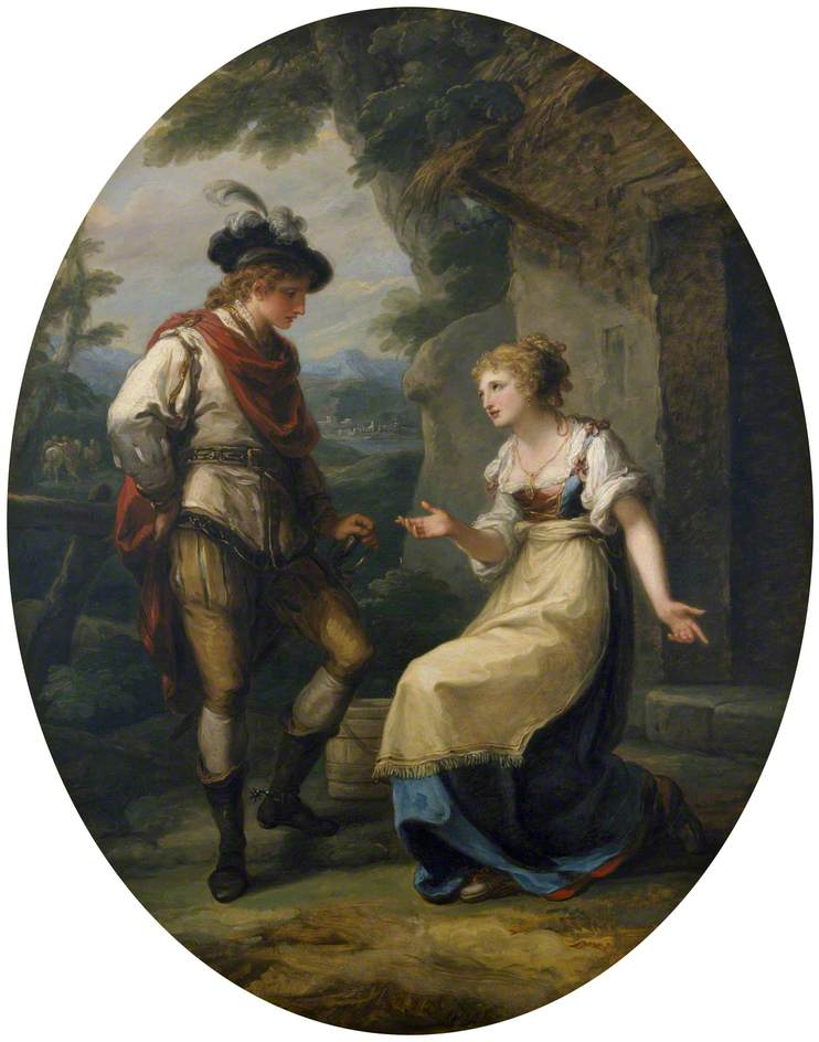 Kauffmann, Angelica, 1741-1807; Gualtherius and Griselda