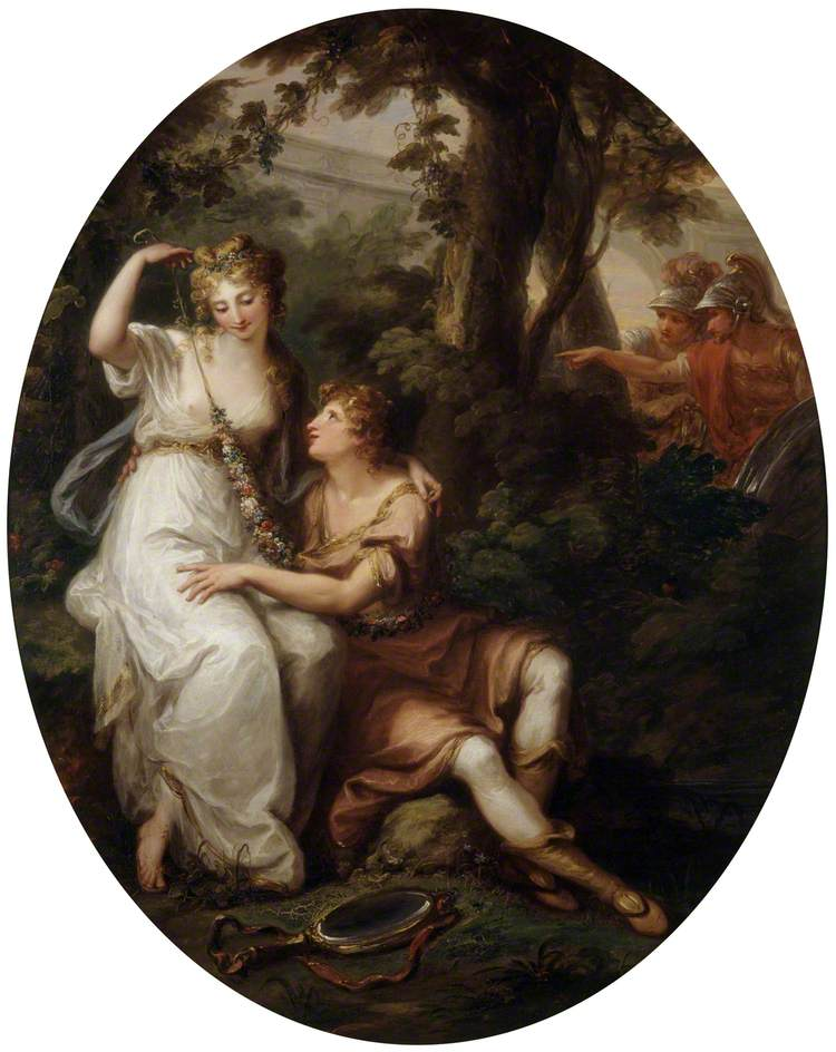 Kauffmann, Angelica, 1741-1807; Rinaldo and Armida
