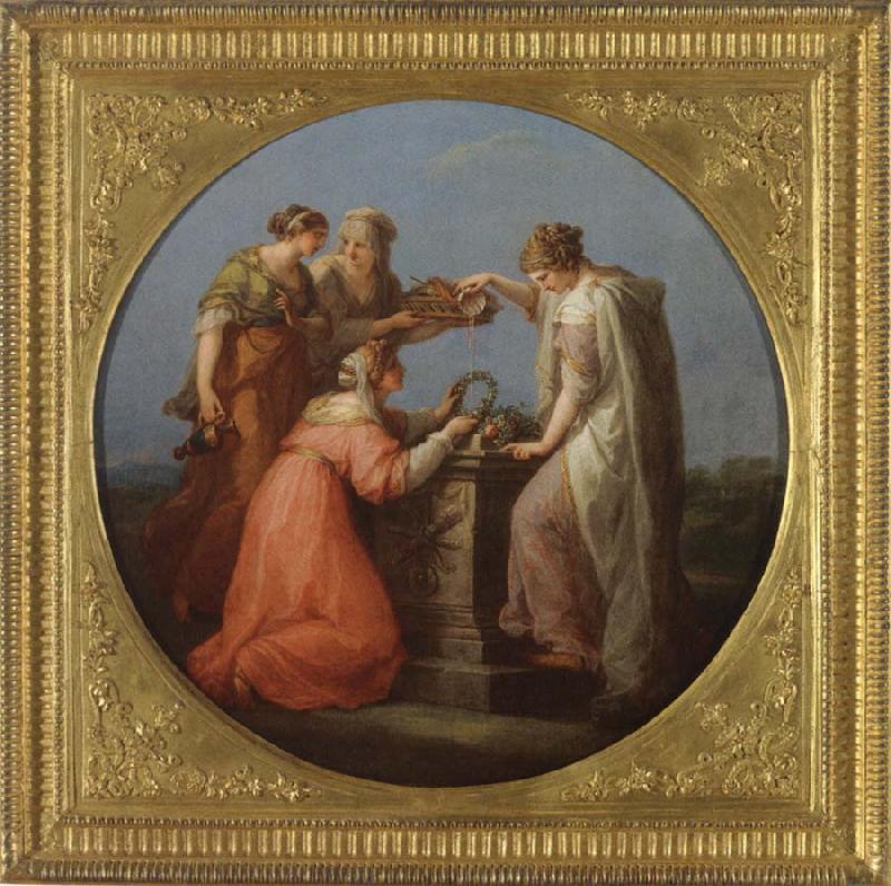 Angelica Kauffmann 1777 5 Ein Opfer an die Liebe Voralberg Museum Bregenz