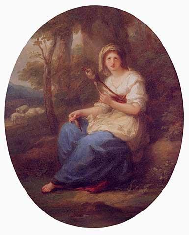 Angelica Kauffmann 1780 ca Griseldis Chur Kunstmuseum