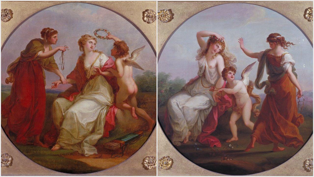 Angelica Kauffmann 1780c ca Plymouth Museum