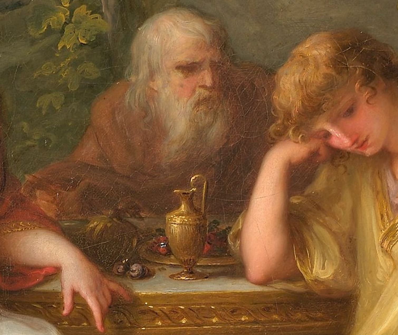 Angelica Kauffmann 1783 The Sorrow of Telemachus MET detail