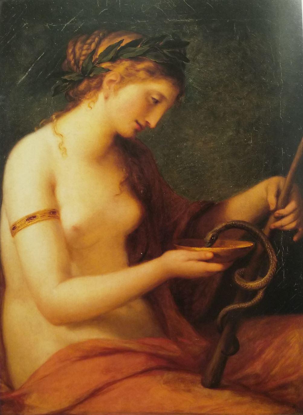 Angelica Kauffmann 1790 Hygieia coll priv