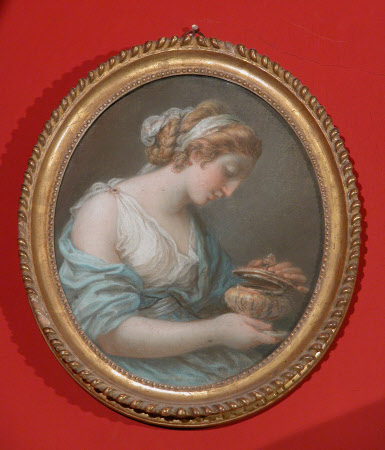 Artemisia whith her Husband's Ashes (after Angelica Kauffman RA)by attributed to Mary Hoare, Mrs Henry Hoare (1744-1820)