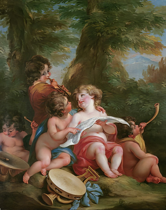 Angelica Kauffmann A1 Musique The Cheltenham Trust and Cheltenham Borough Council