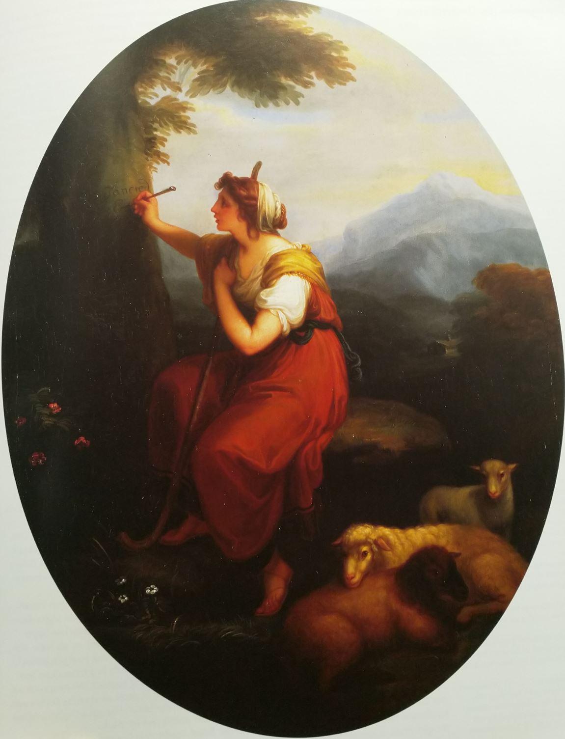 Angelica Kaufmann 1783b Erminia Schleswig, State Museum Schleswig-Holstein