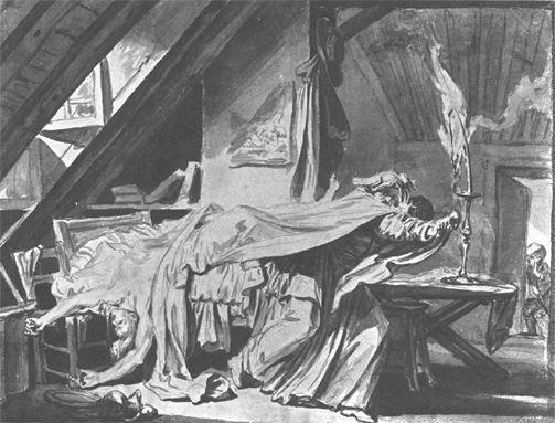 Greuze 1769 La mort d'un Pere denature, abandonne de ses Enfans Tournus, Musee Greuze