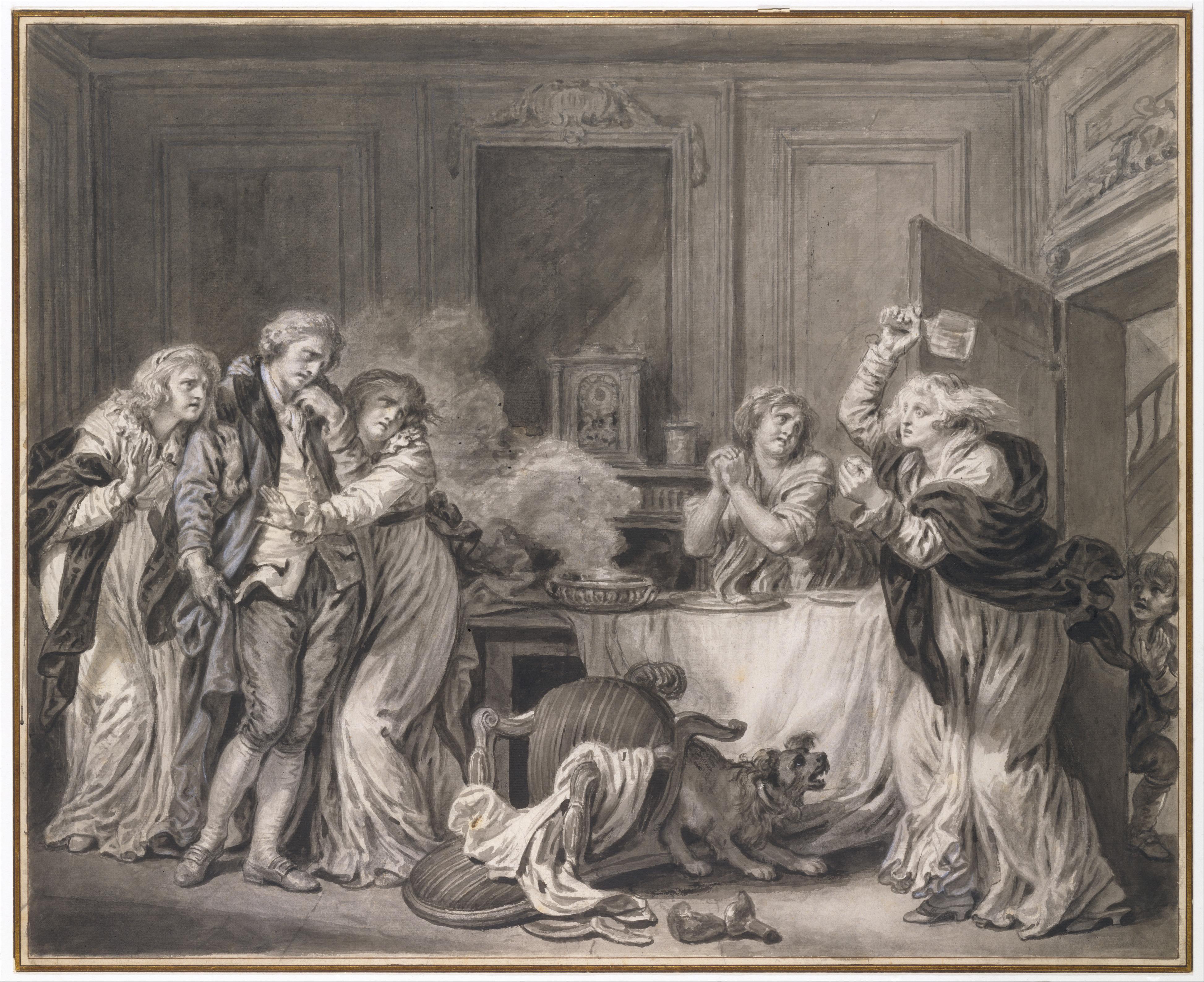 Greuze 1785 ca La femme colere MET