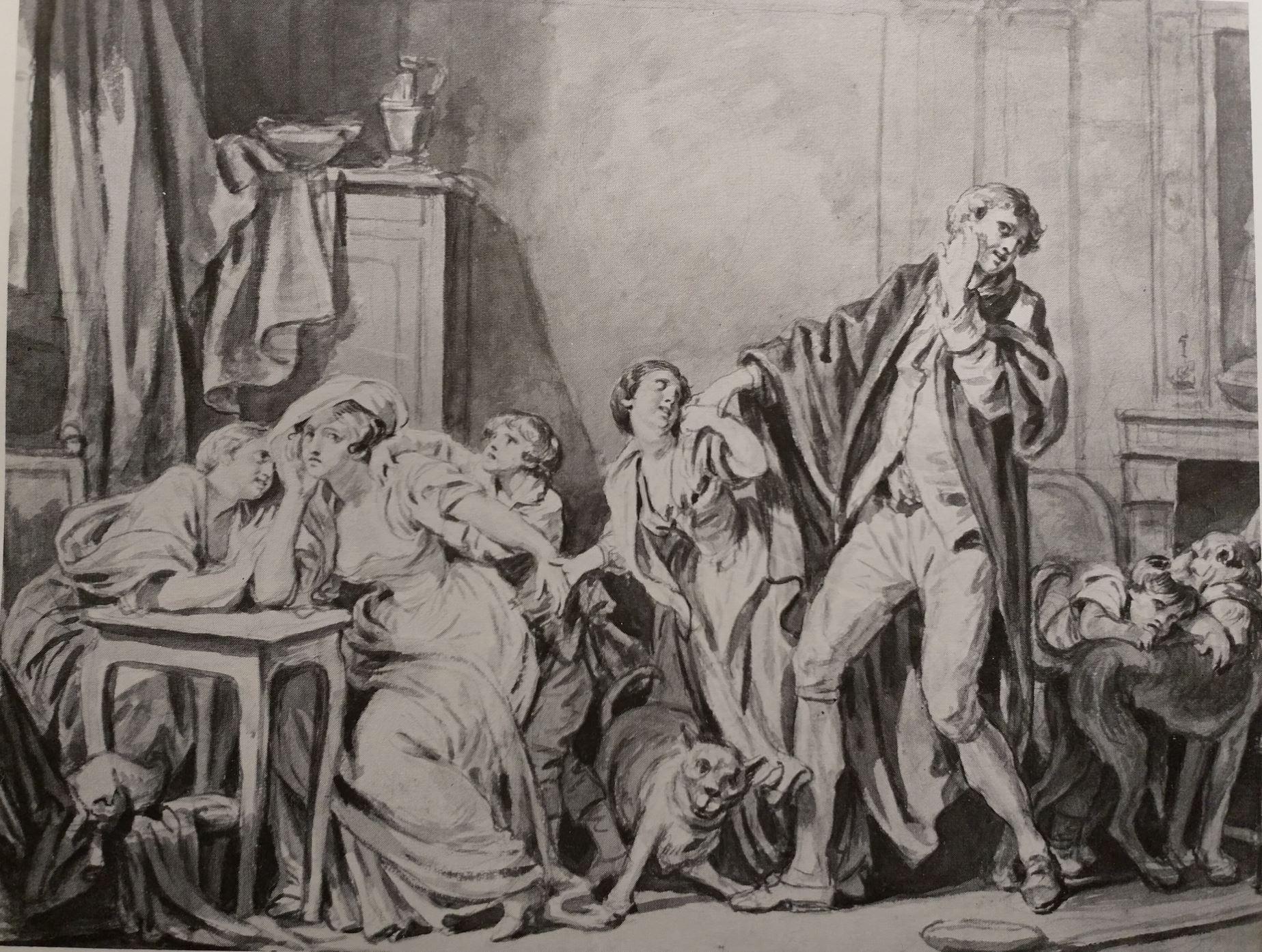 Greuze 1785 ca La reconciliation