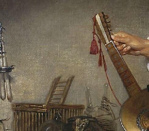 Greuze le_guitariste_dit_un_oiseleur cage