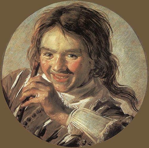 Hals 1625-28_Boy_holding_a_Flute_(Hearing)_-_WGA11090 Staatliches Museum Schwerin