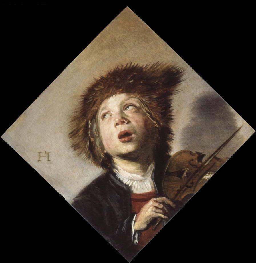 Hals 1626-30 Boy with a violin coll priv