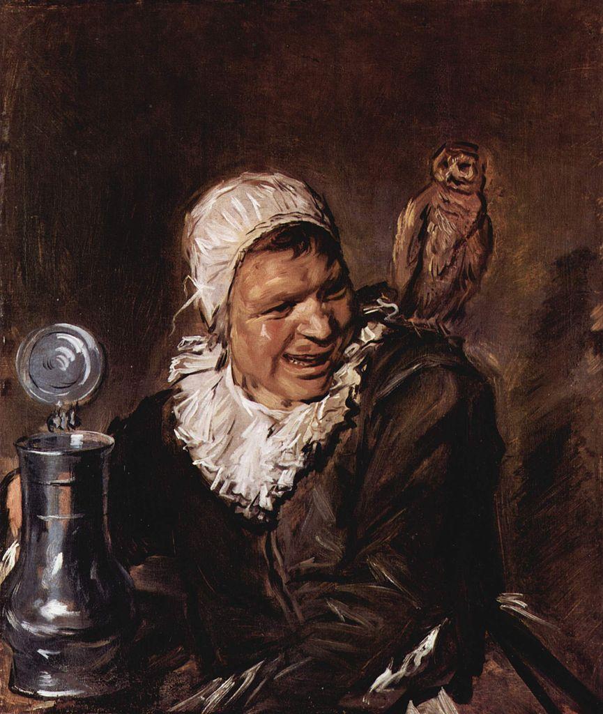 Hals 1633-35 Malle babbe Gemaldegalerie Alte Meister Berlin