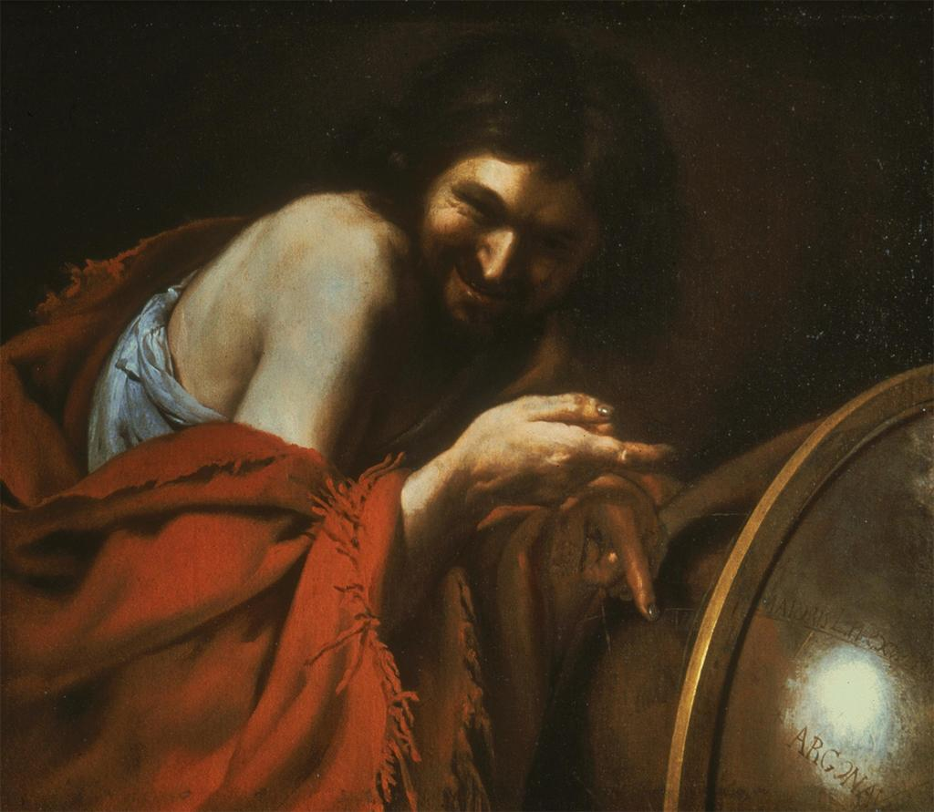 Johann Moreelse Democritus-laughing (c. 1630) Art Institute of Chicago