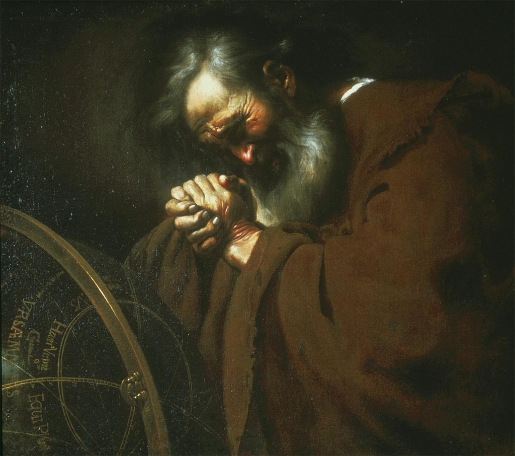 Johann Moreelse Heraclitus-Weeping (c. 1630) Art Institute of Chicago