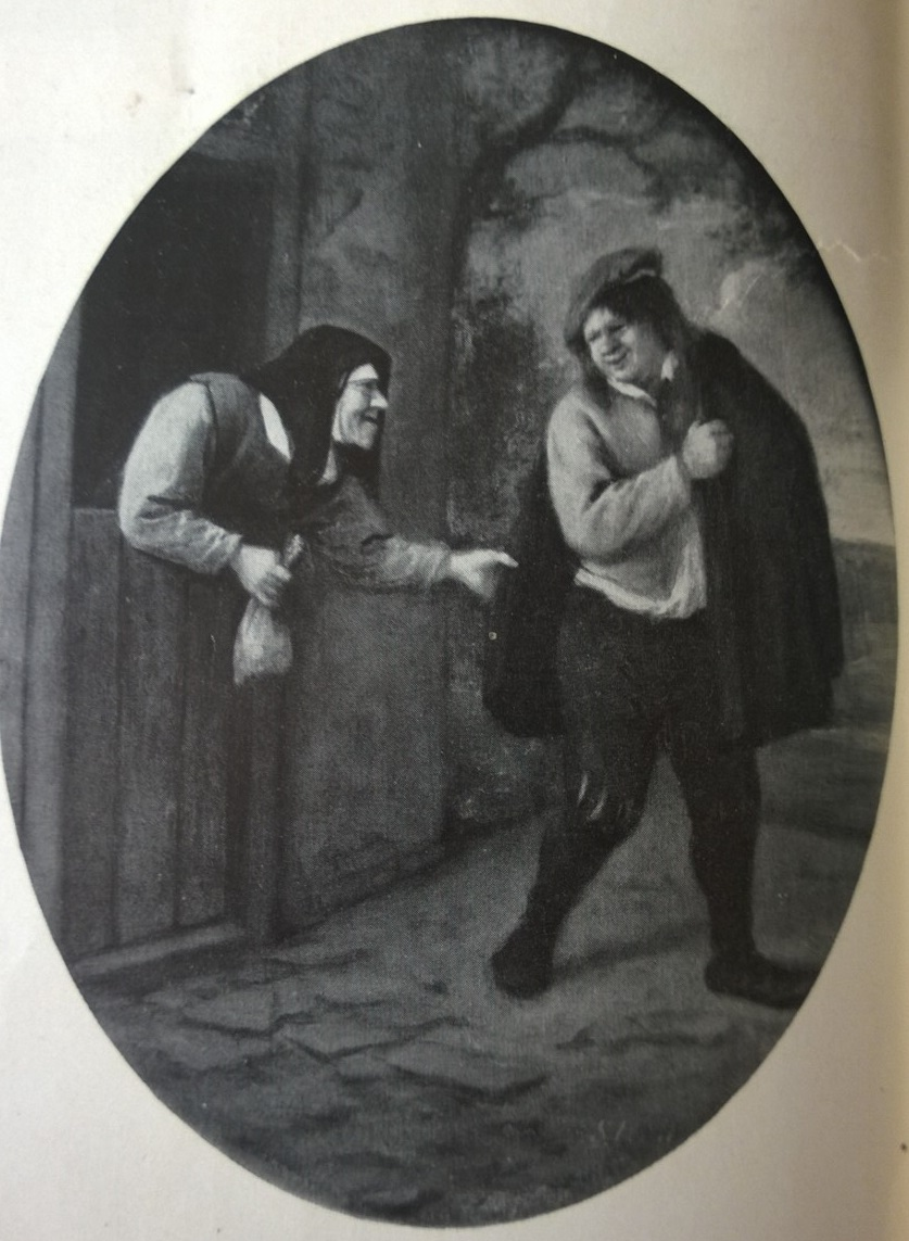 Steen 1660 ca_The_Rejected_Suitor coll priv