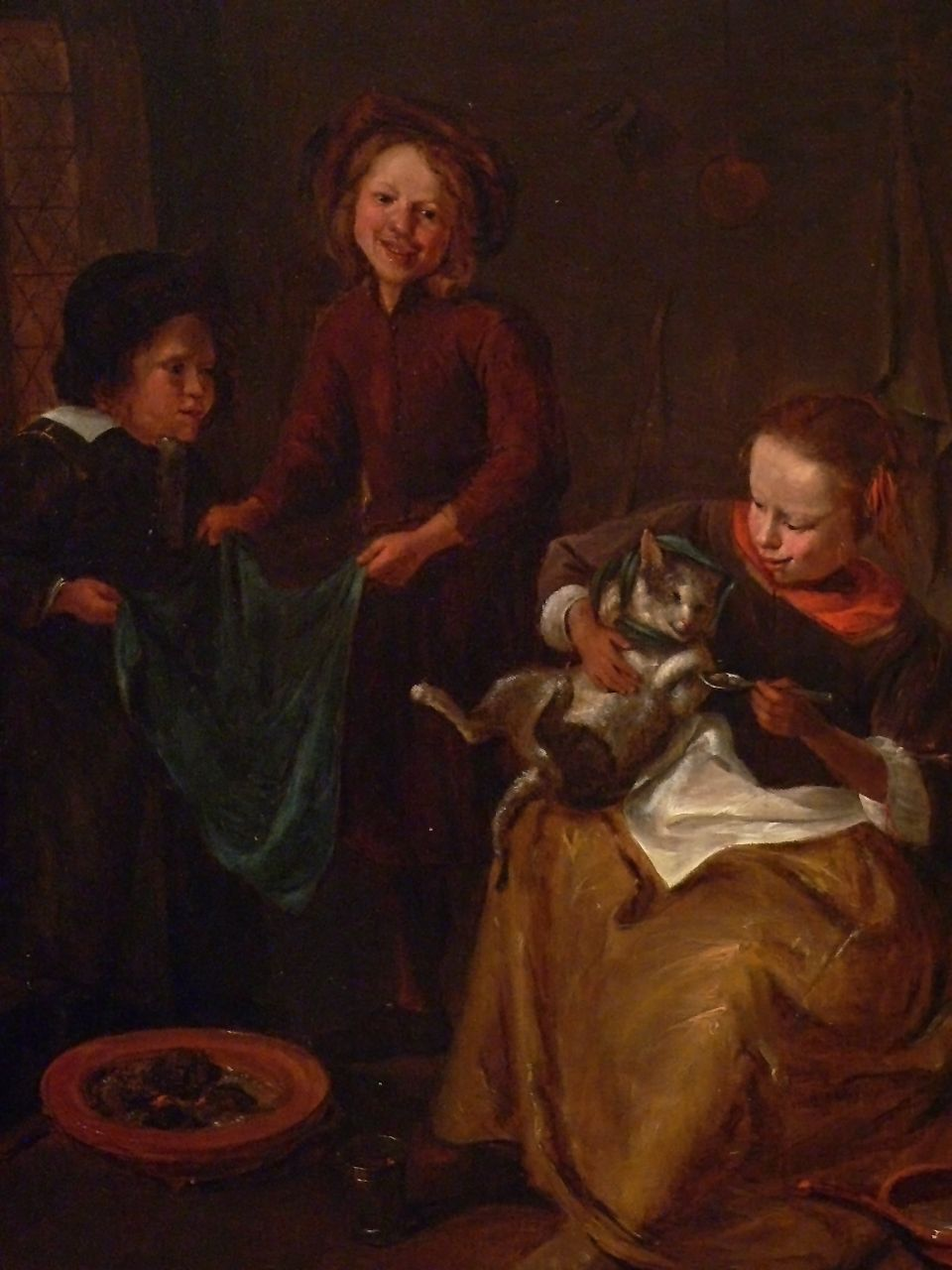 Steen 1665-68 (copie) The Cats Medicine, San Diego Museum of Art, photo Mary Harrsch