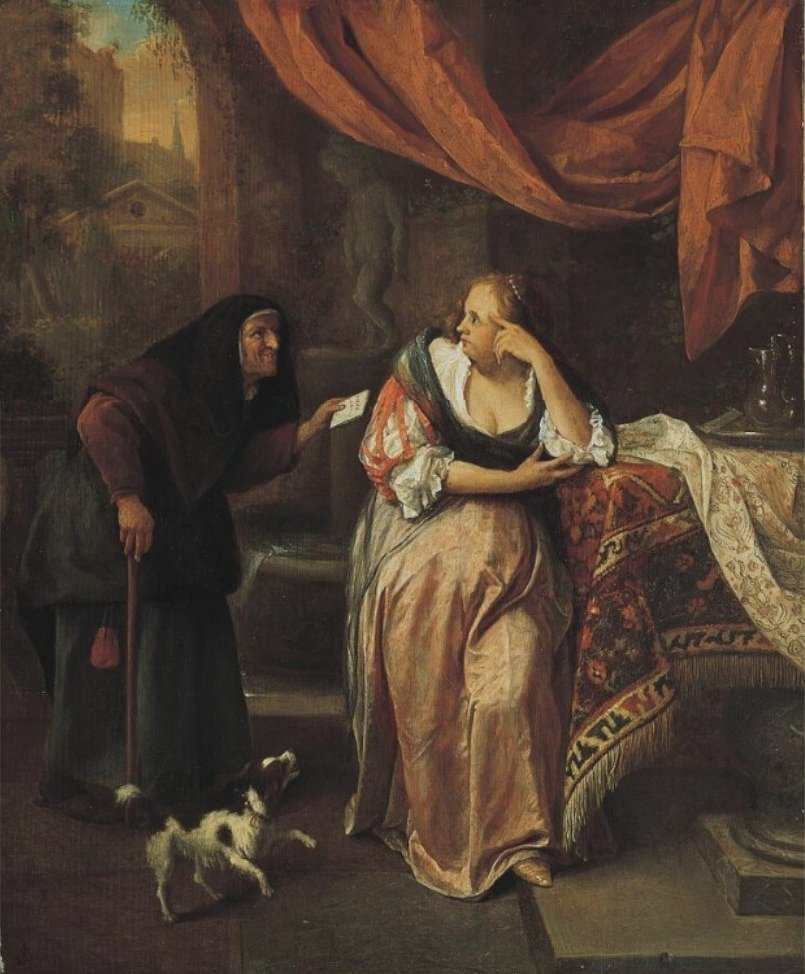 Steen 1665-70 Bathsheba Norton_Simon_Museum