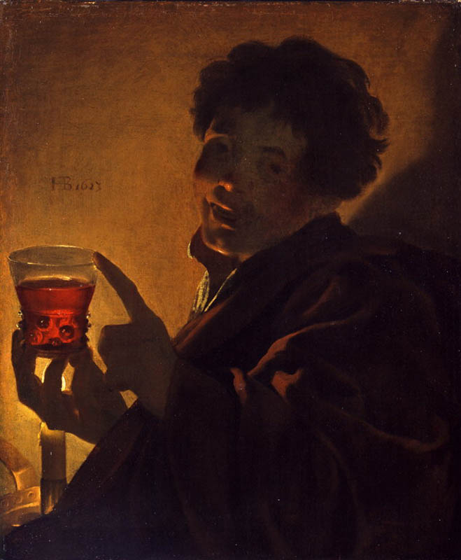 Terbrugghen 1623 Boy with a Wineglass North Carolina Museum of Arts Raleigh