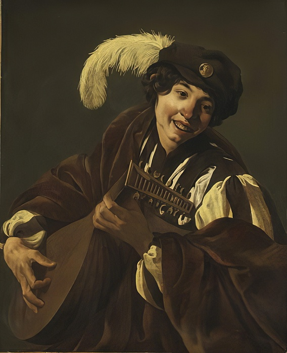 Terbrugghen 1626 Boy_playing_the_Lute_Stockholm National museum