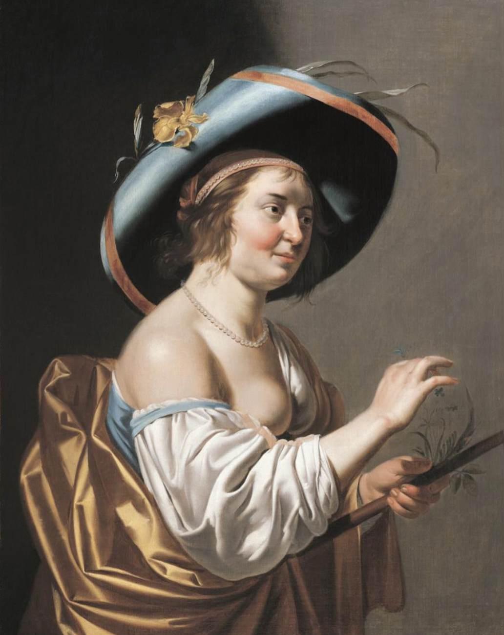 Van Bijlert 1625-30 Bergère a la flute coll priv