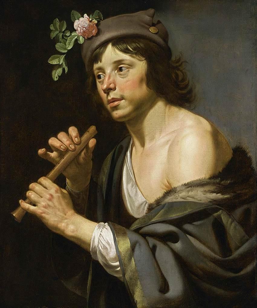 Van Bijlert 1625-30 Berger a la flute