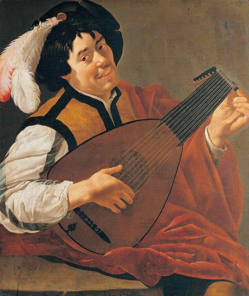 Van Bijlert 1630 ca Joueur de Luth Musee Pouchkine Moscou