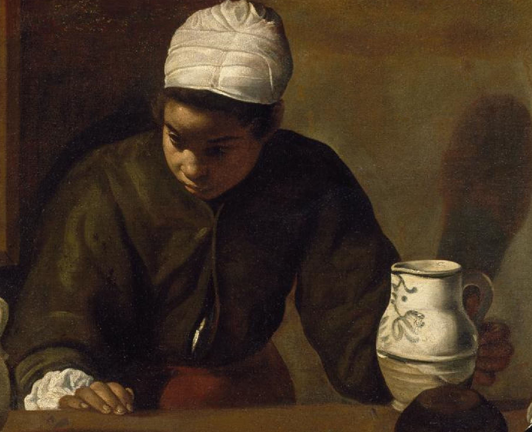 Velasquez 1617-23 La mulata National Gallery of Ireland Dublin detail mulatre