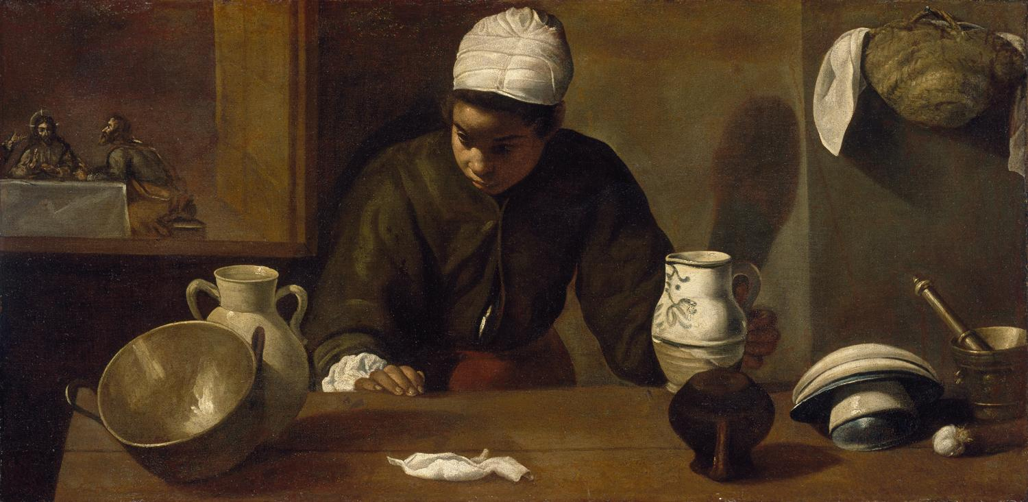 Velasquez 1617-23 La mulata National Gallery of Ireland Dublin