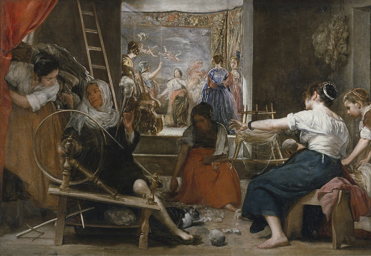 Velazquez 1657 las_hilanderas Prado
