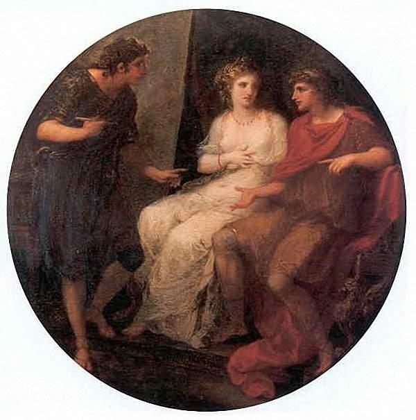 angelica kauffman 1782 Alexandre Campaspe et Apelle Bregenz, Amt der Landeshauptstelle,