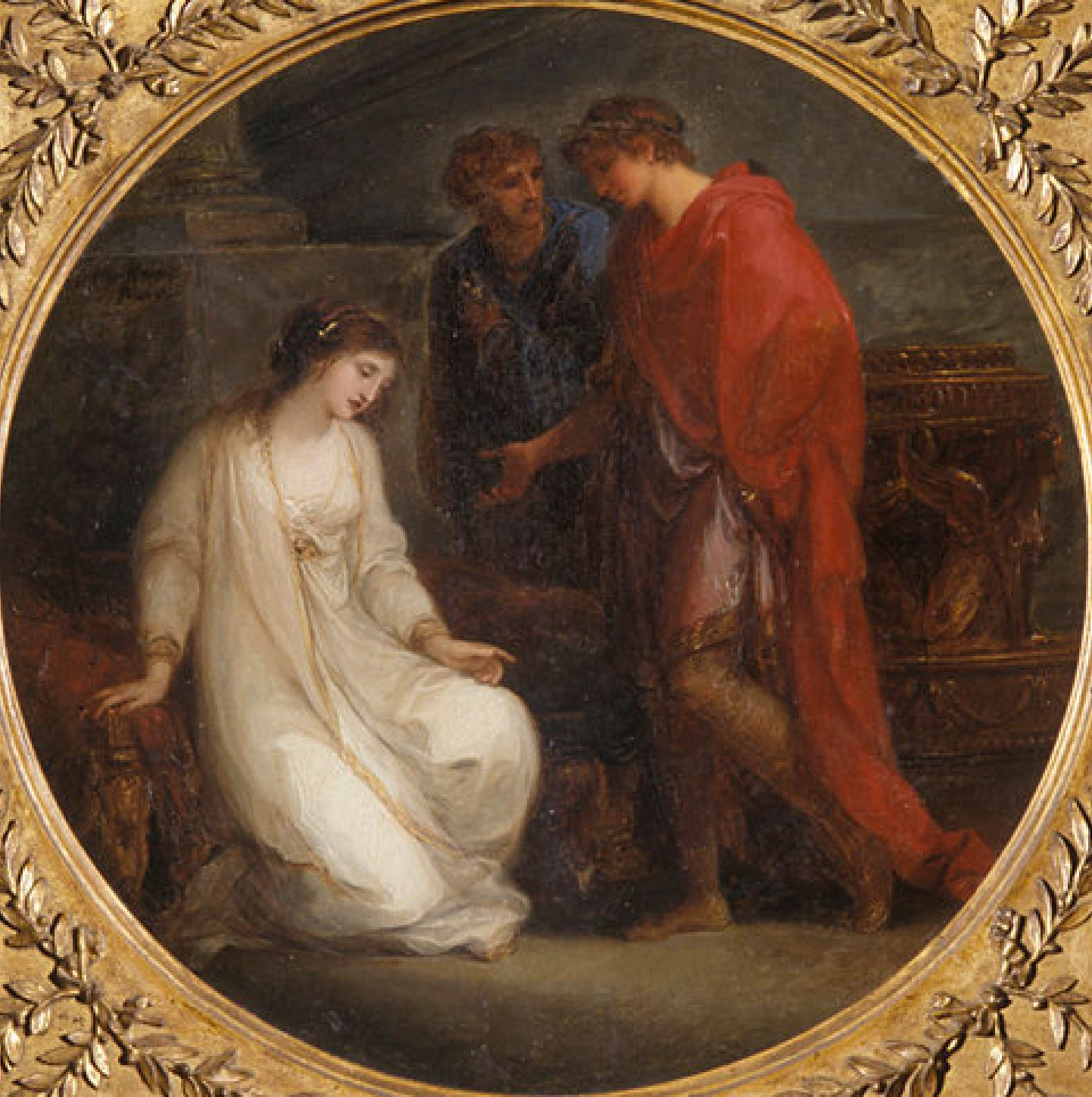 angelica kauffman 1782 Cleopatre et Auguste University of Kansas