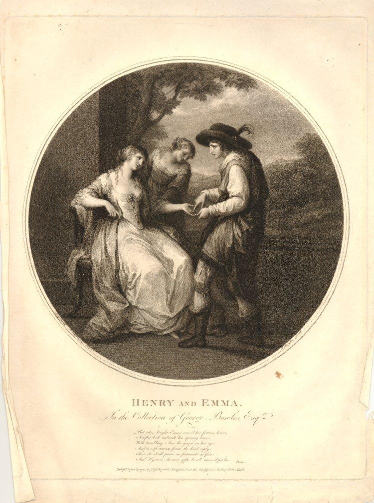 angelica kauffman 1783 pour Bowles Henri et Emma Brisish Museum