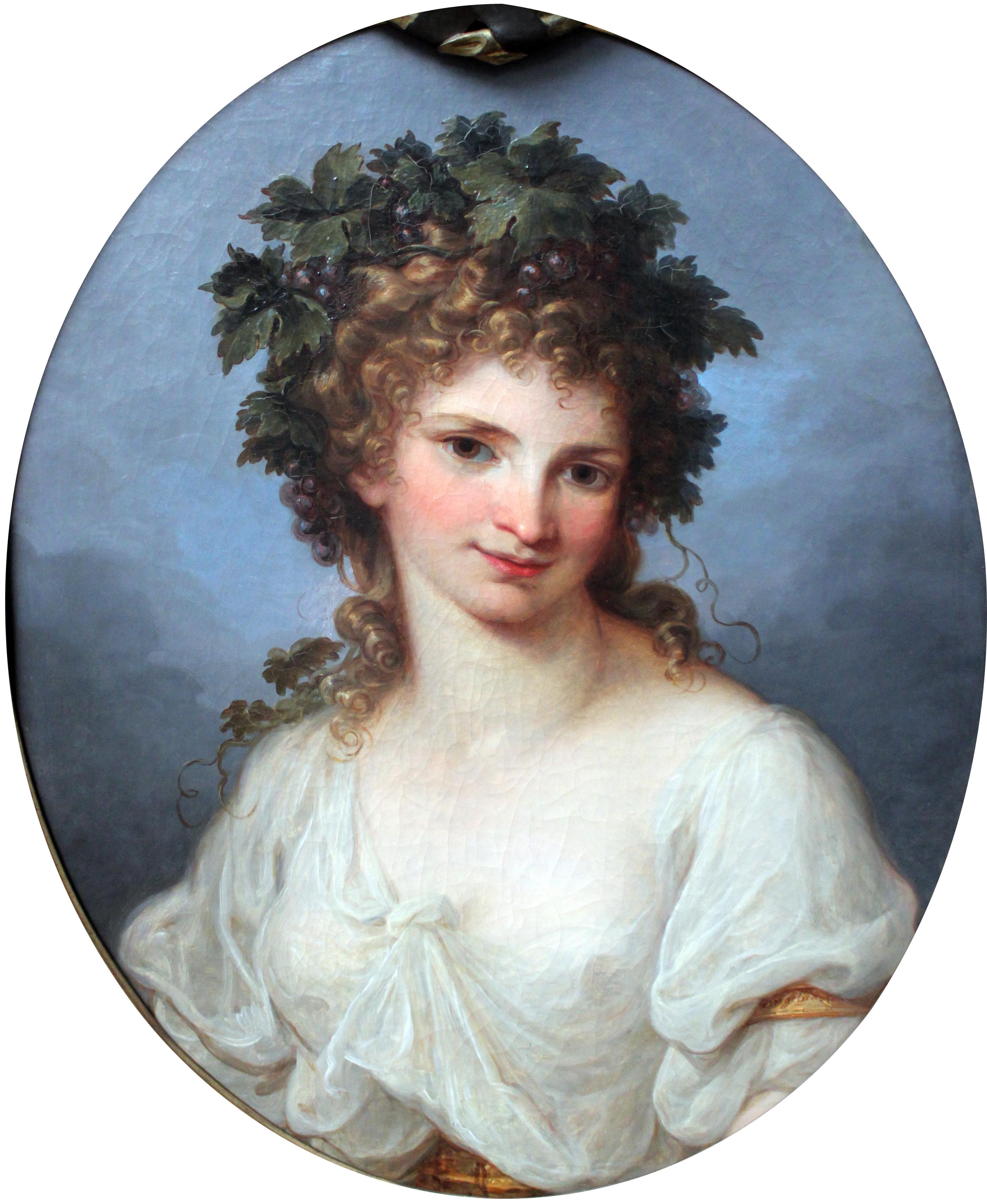 angelica kauffman 1785 Bacchante Gemaledegallerie Berlin