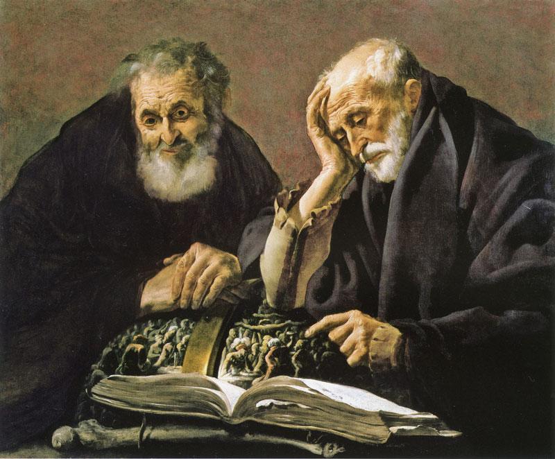 hendrick_ter_brugghen_democritus_heraclitus 1618-19, Koelliker Collection Milan