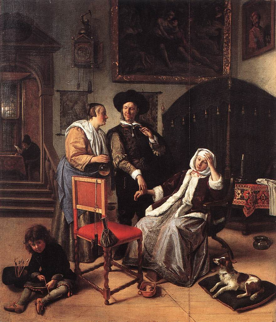 steen the doctor visit 1658-62 Wellington Museum, Apsley House, London
